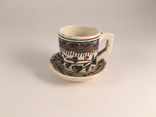 Turkish Kutahya Chini Coffee Cup