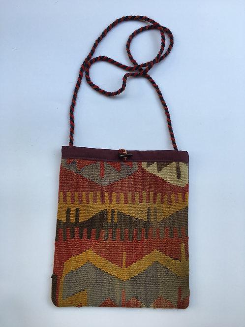 Old Konya Kilim Shoulder Bag