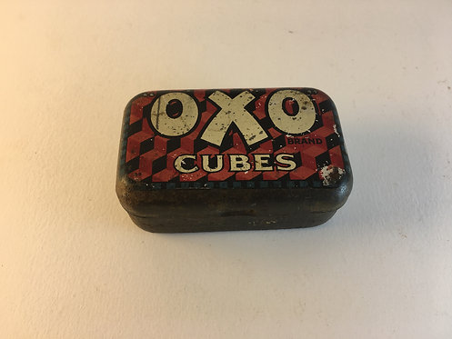 1960s English Oxo Cubes Tin