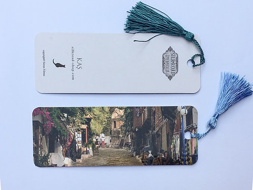 Famous Street Kaş Bookmark