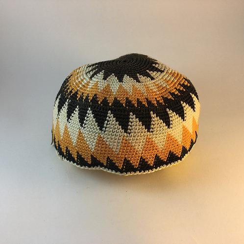 Nubian Hand Crochet Cap