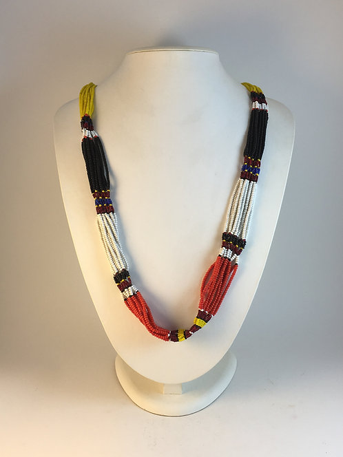 Uzbek Beaded Old Necklace
