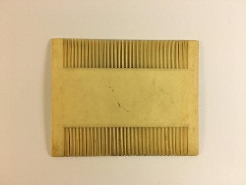 Ottoman Bone Comb
