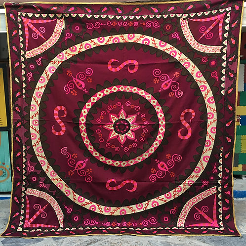 Antique Tashkent Silk Suzani