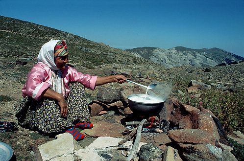 Cooking Milk on the Mountain