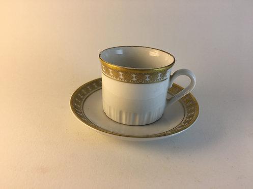 Kahla German Democratic Republic Porcelain Coffee Cup