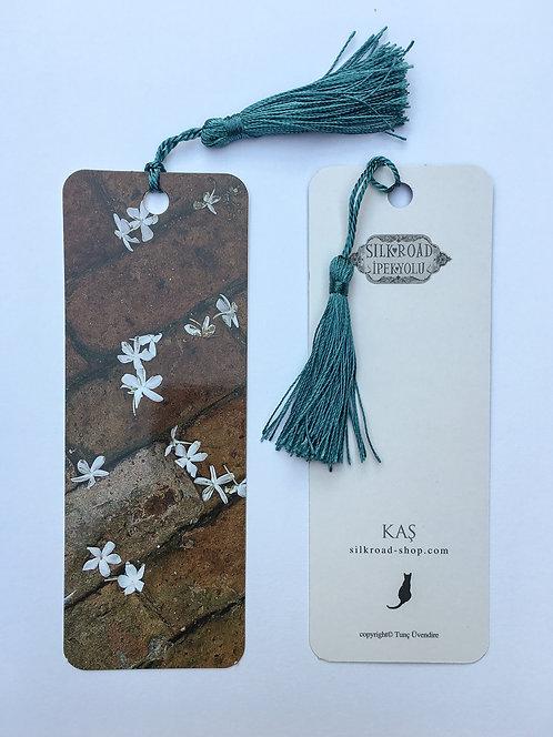 Jasmine Flowers Bookmark