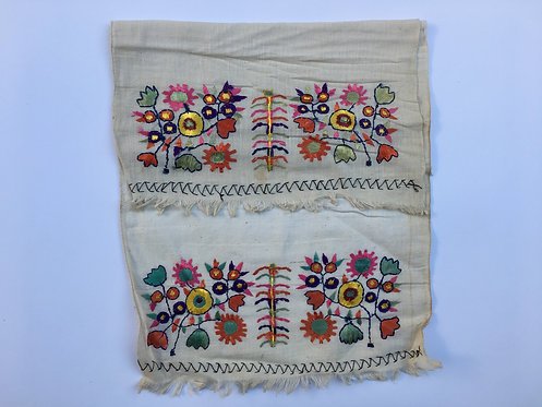 Hand Embroidered Turkish Young Cotton Peshkir Towel