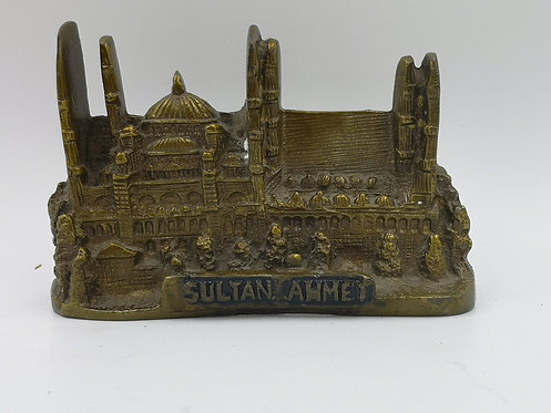 Antique Brass Sultanahmet mosque