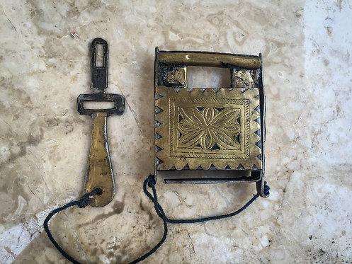 19th Century Moroccan Padlock