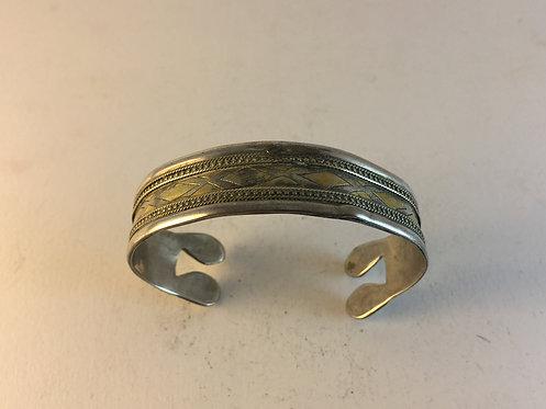 Turcoman Silver Gold Bracelet