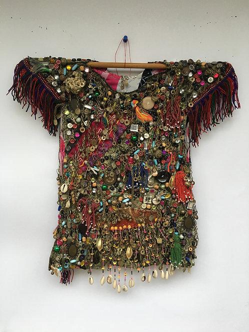 Turcoman Ceremonial Old Child Dress