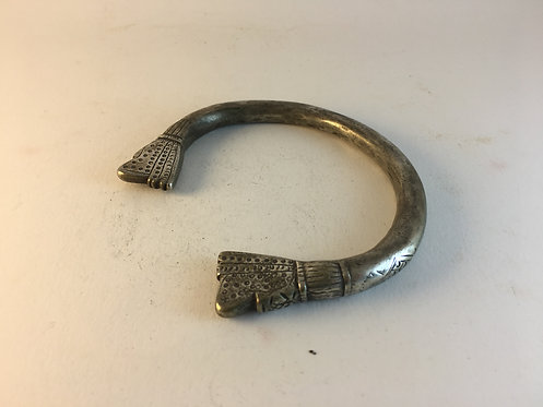 Indian Good Silver Heavy Antique Armelet