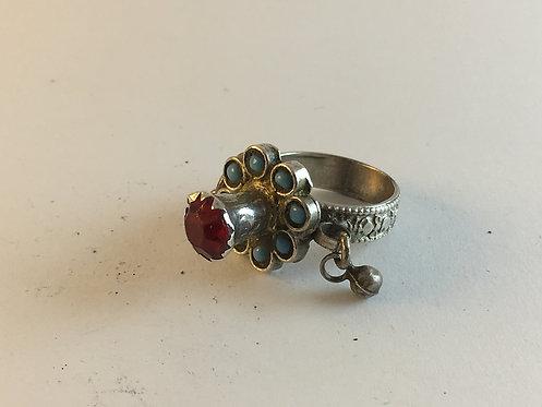 Uzbek Afghan Silver Ring