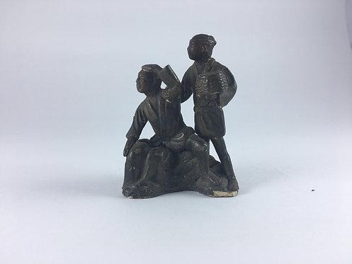 Chinese Ceramic Two Men