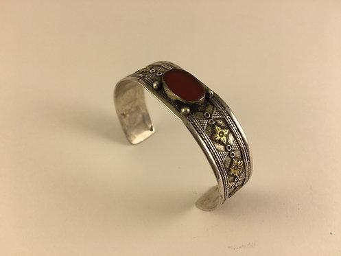 Turkoman Kazakh Silver Bracelet