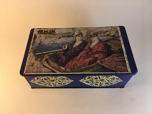 1960s Melek Turkish Chewing Gum Tin