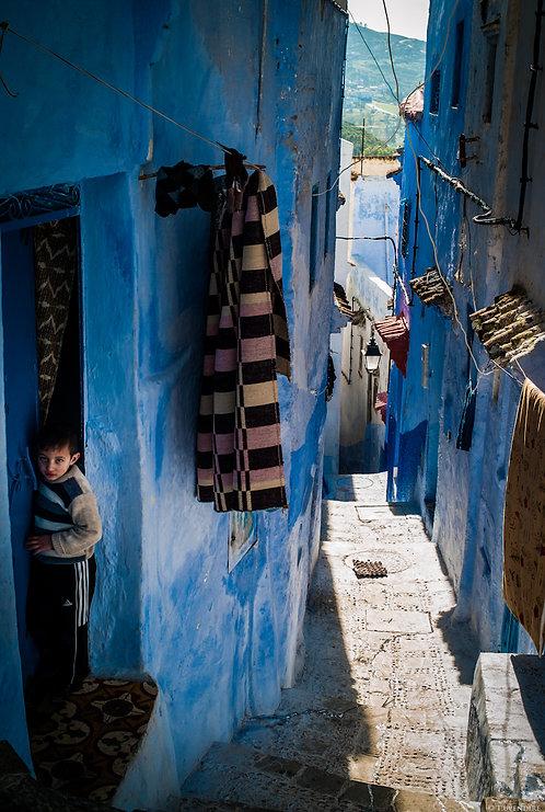 Blue Street Morocco