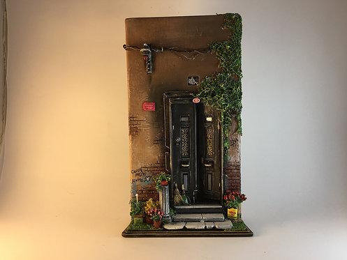Istanbul Ortakoy Old House Door