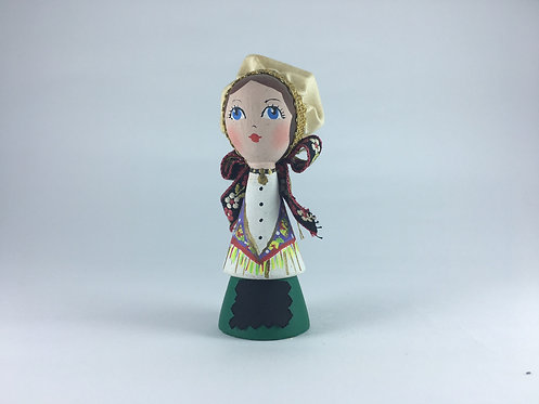 Slovania Mini Wood Doll