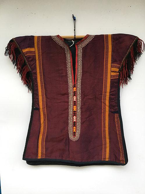 Turcoman Ceremonial Old Silk Child Dress
