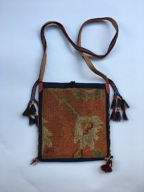 Old Turkish Carpet Shoulder Bag