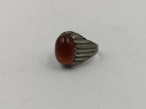 Iranian silver ring
