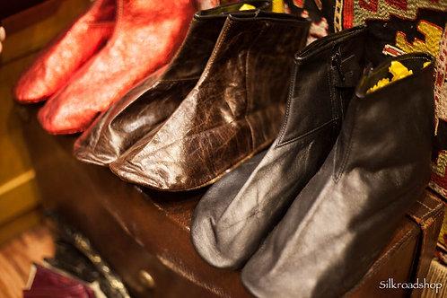 """Leather socks """"Mest"""""""