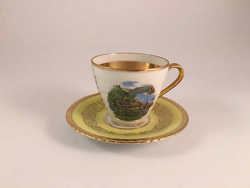German 24K Gold gilded Coffee Cup
