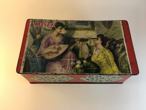 Melek 1960s Turkish Chewing Gum Tin