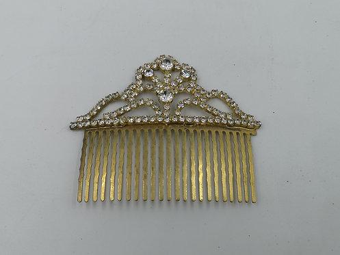 Svarovski brass comb 1970