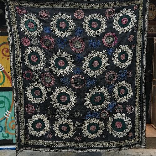 Uzbek Chain Stitch Suzani