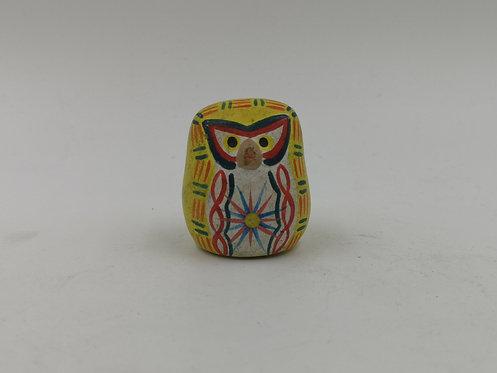 Angry bird owl