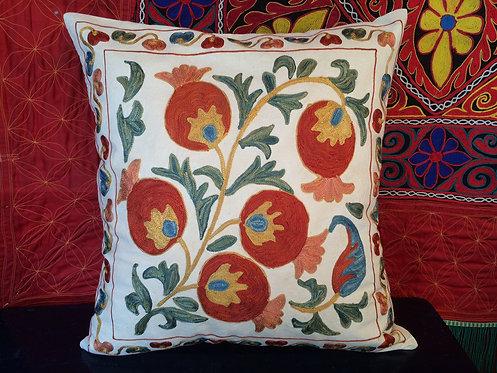 Silk&Cotton Suzani Cushion