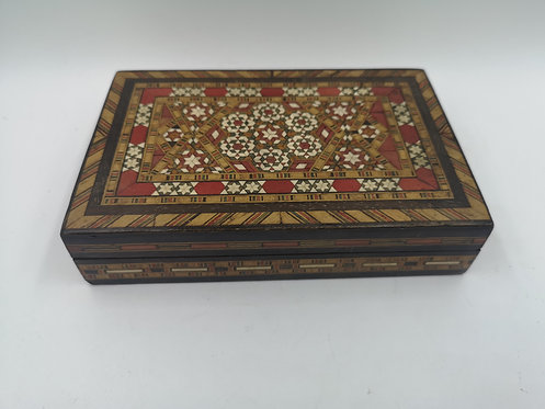 Bone Marquetry old Turkish box