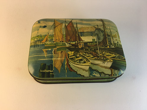 1950s Harry Vincent Blue Bird Toffee Tin