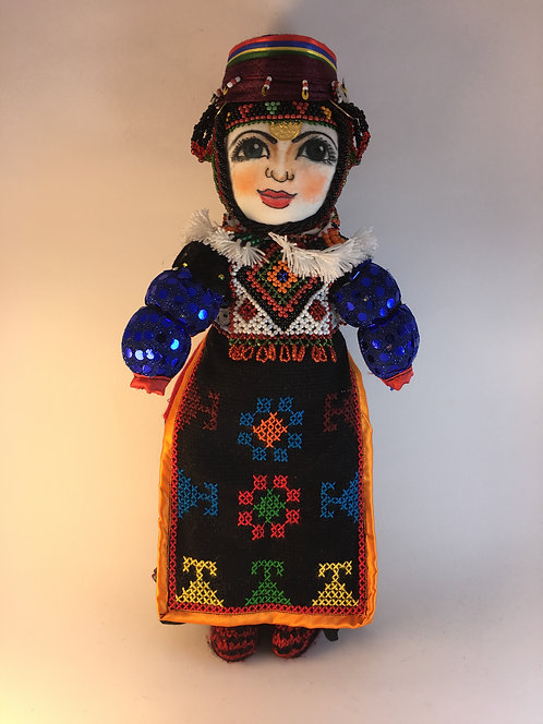 Turkish Damal Traditional Mother Large Size Baby Doll