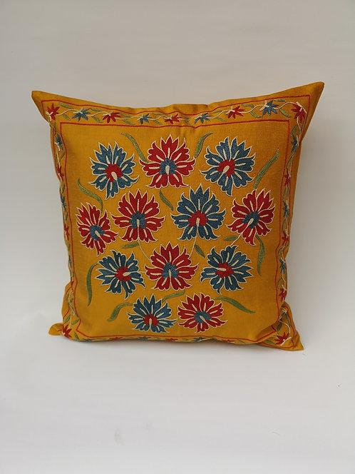 Uzbek silk cushion