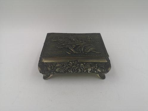 Zinc cigarette box