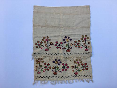 Hand Embroidered Turkish Young Cotton Peshkir Towel