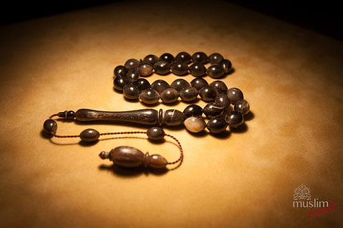 Water Buffalo Horn Prayer Bead