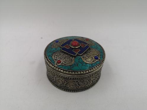 Tibetan Nepalese Alpaka box