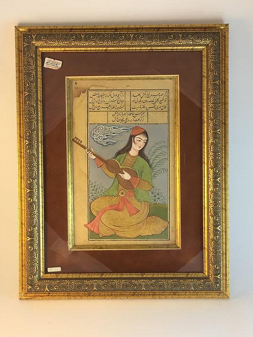 Persian Woman Raubab Player