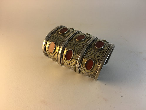 Turcoman Teke Tribe Silver Wedding Bracelet