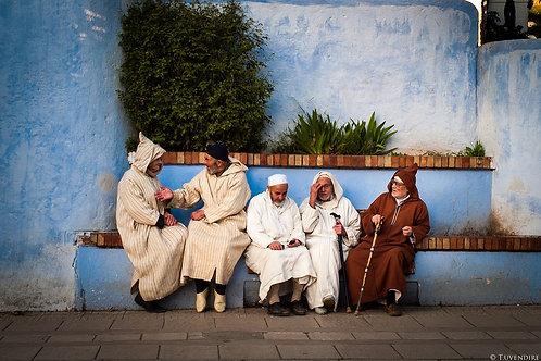 Old Men's Talk Morocco