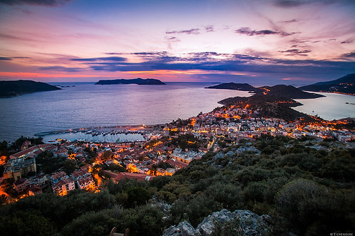 Night Lights of Kas Bay