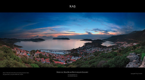 Sunset Kas Panorama