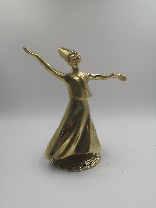 Brass whirling Dervish (rotates)
