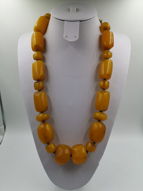 Moroccan Amber Necklace