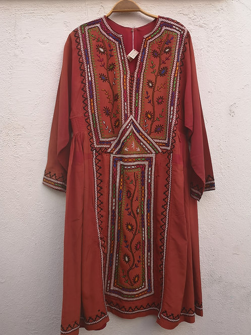 Belouch old silk dress